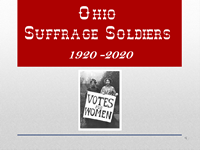Ohio Suffrage Soldiers